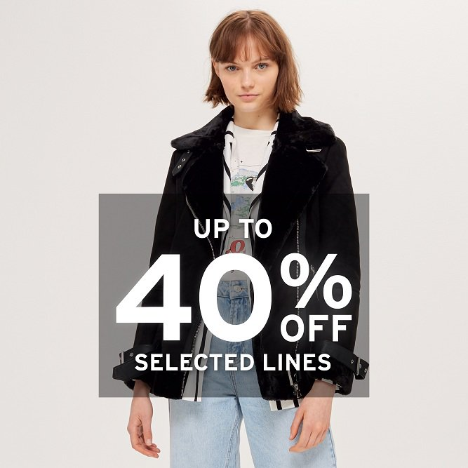 Discount Up to 40% from Topman