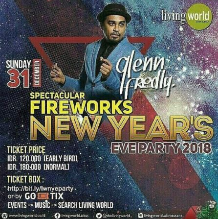 New Year's Eve Party 2018 at Living World Mall Alam Sutera