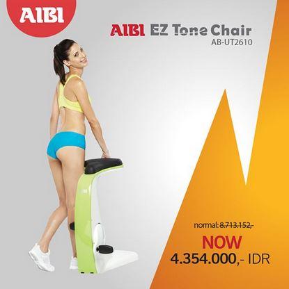 Promosi EZ Tone Chair di AIBI