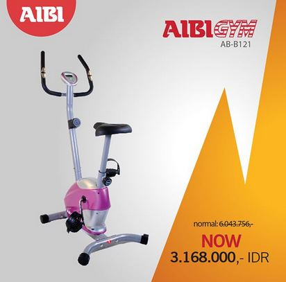 AB-B121 Bicycle Promotion at AIBI