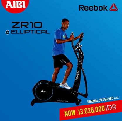 Reebok ZR10 Promotion at AIBI</h3>