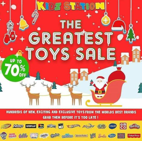 Promotion Up to 70% Off at Kidz Station