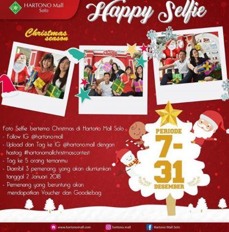 Happy Selfie Event at Hartono Mall Solo