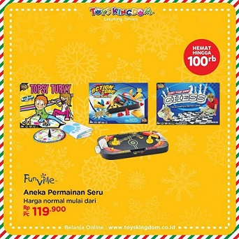 Discount Up to Rp 100,000 at Toys Kingdom