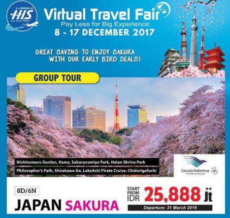 Japan Sakura Promotion at HIS Travel