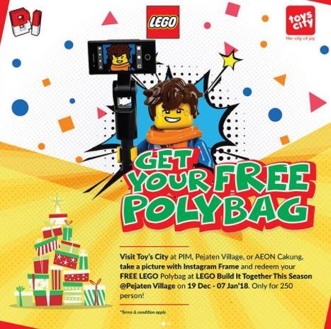Free Polybag at Pejaten Village