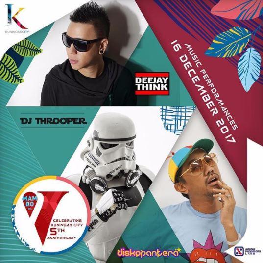 Jakarta's Hype DJ Mambo V in Kuningan City