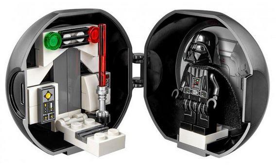 Free Lego Star Wars Darth Vader Pod at Lego Vivo City