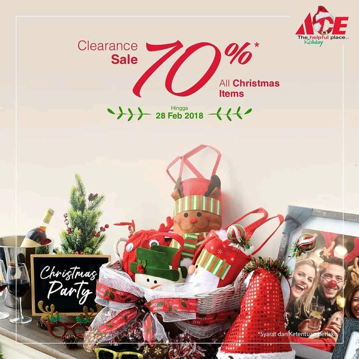 Clearance Sale up to 70% Off at Ace Hardware