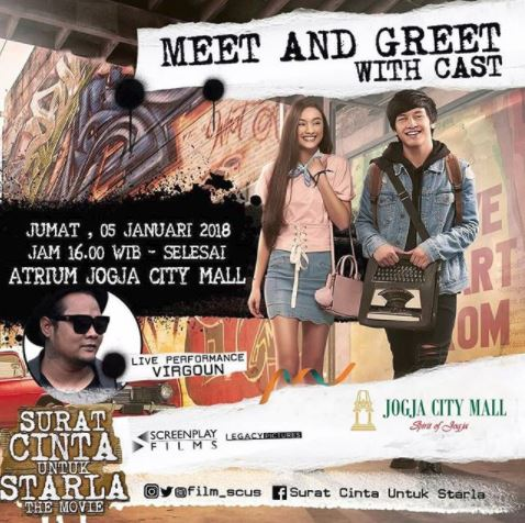Meet Greet Surat Cinta Untuk Starla The Movie Di Jogja