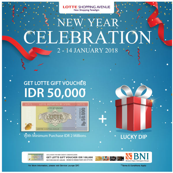 New Year Celebration from Lotte Shopping Avenue</h3>