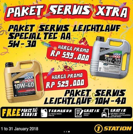 Service Promotion at 1Station