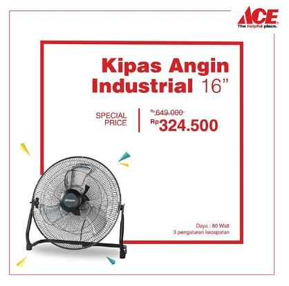 Get Special Price Industrial Fan  at Ace Hardware
