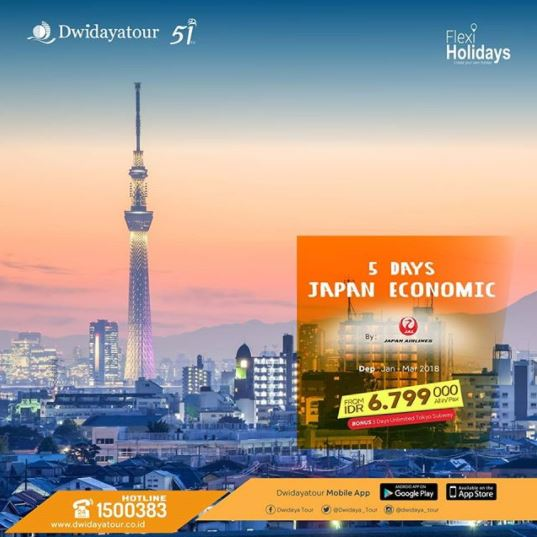 Japan Economic from Dwidaya Tour