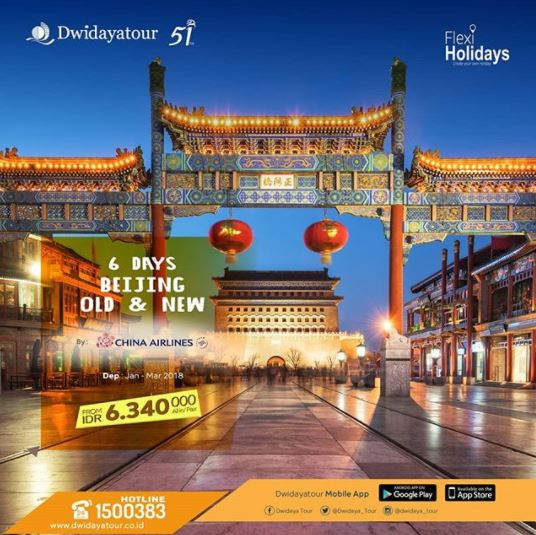 Explore Beijing with Dwidaya Tour