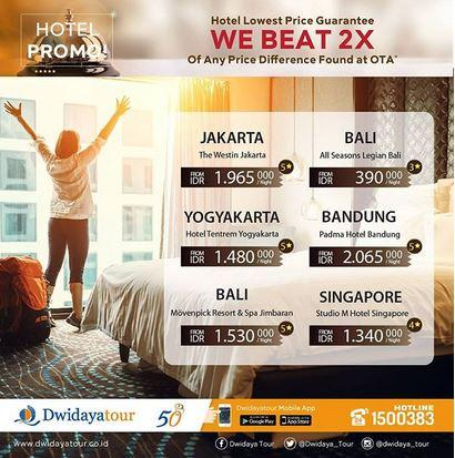 Promosi Hotel Di Dwidaya Tour Januari 2018 Grand Indonesia