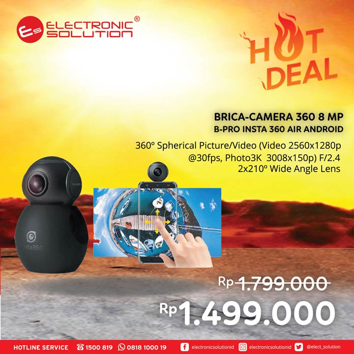 Brica-Camera 360 Special Price at Electronic Solution