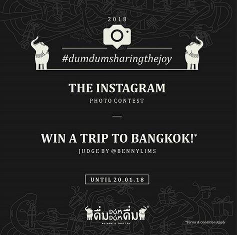 Win a Trip to Bangkok at Dum Dum Thai Drink
