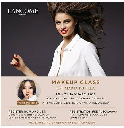 Make Up Class At Central Grand Indonesia Gotomalls