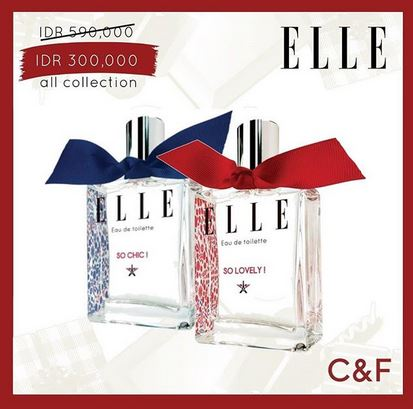 Elle Promotion at C&F Perfumery