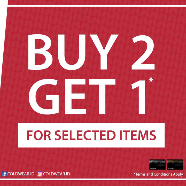 Buy 2 Get 1 Free from Coldwear