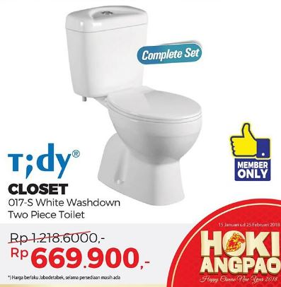 Get Special Price Tidy Closet at Mitra 10