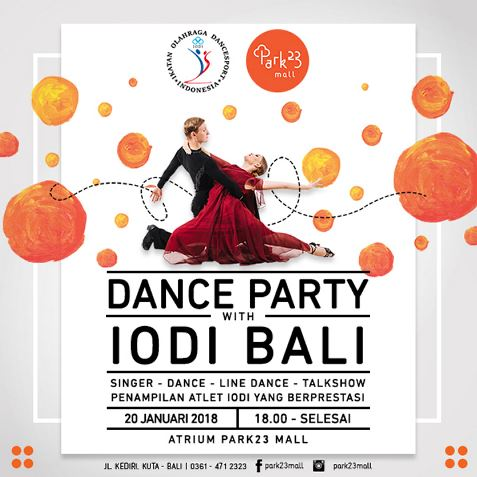 Dance Party with IODI Bali at Park23