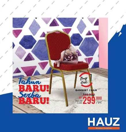 Buy 1 Get 1 Banquet Chair at HAUZ