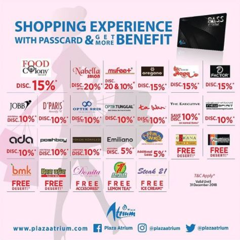 Shopping Experience at Plaza Atrium