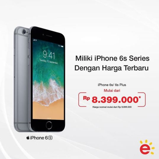 Special Price Phone 6s Series at Erafone