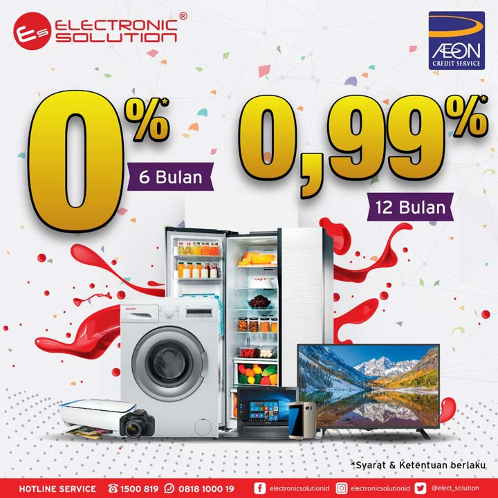0% Installment Promotions at Electronic Solution