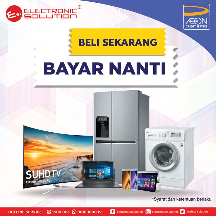 Buy Now Buy Later Promotion from Electronic Solution