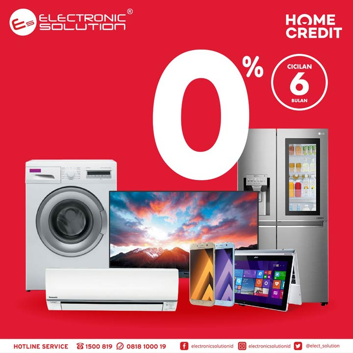 0% Installment Promotions from Electronic Solution