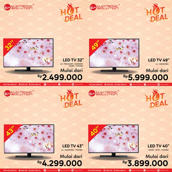 Hot Deal TV Promotions from Electronic Solution