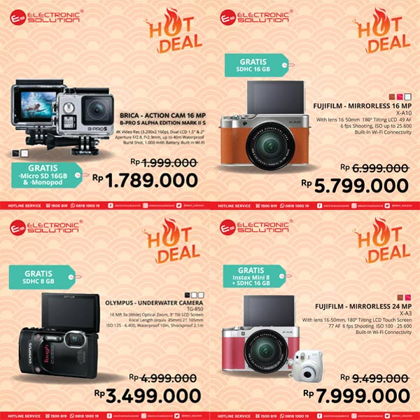 Hot Deal Special Camera from Electronic Solution