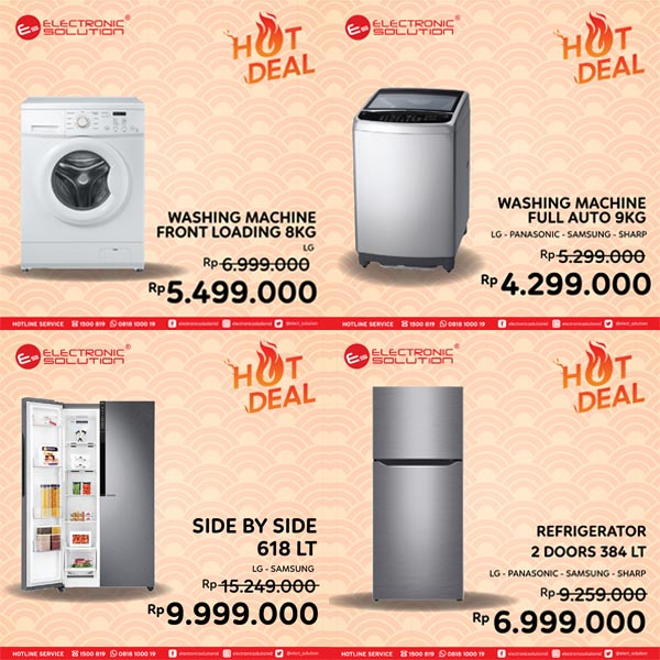 Special Price Promotions from Electronic Solution