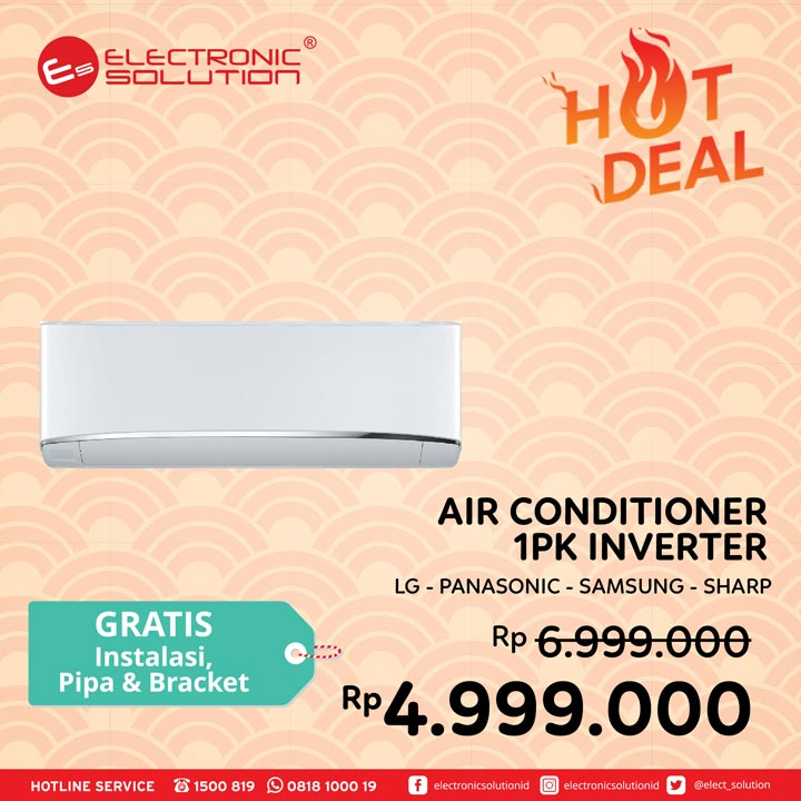 Hot Deal Special AC Promotion at Electronic Solution