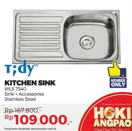 Special Price Tidy Kitchen Sink at Mitra10