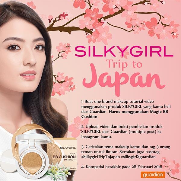 SILKYGIRL Trip to Japan