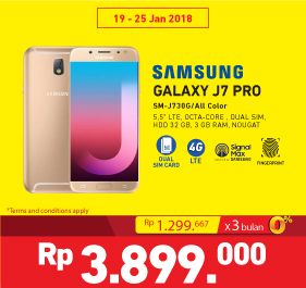 Promo Samsung Galaxy J7 Pro At Electronic