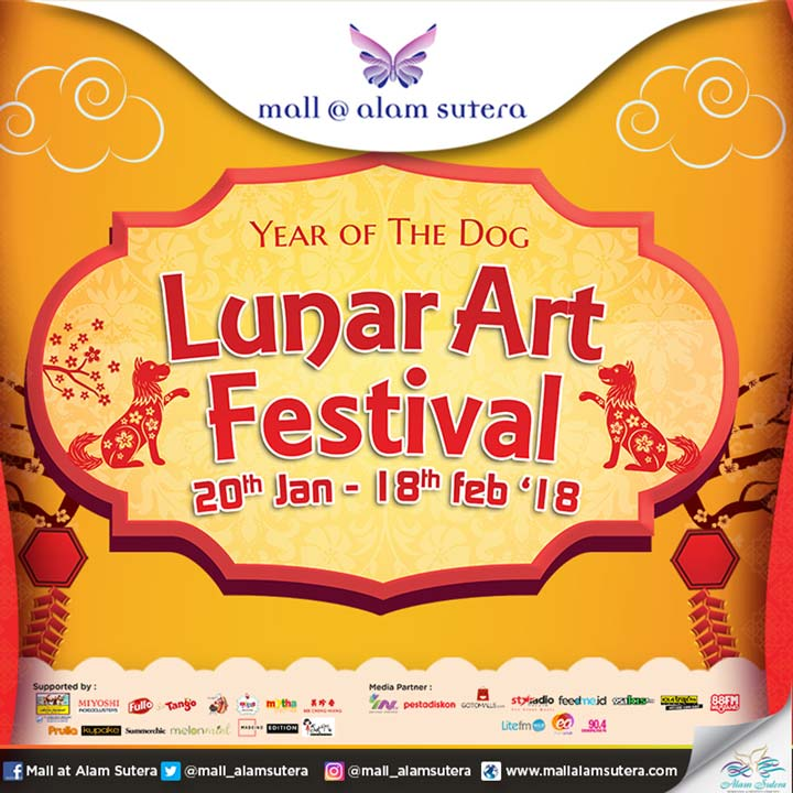 Lunar Art Festival at Mall @ Alam Sutera