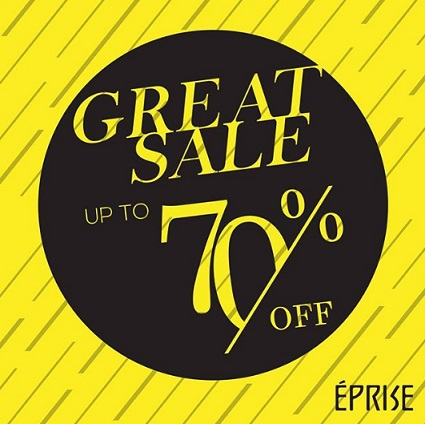 Great Sale Up to 70% from Eprise