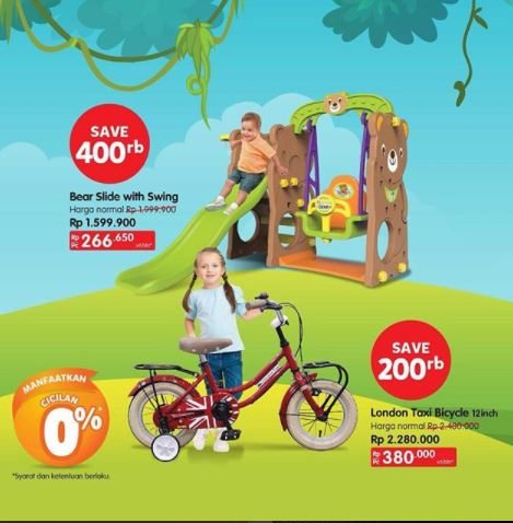 Get Discounts Up to Rp 400,000 from Toys Kingdom