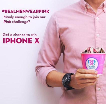 Dapatkan iPhone X dari Baskin Robbins