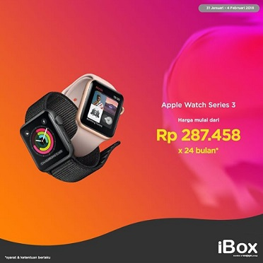 Special Price Installment Apple Watch Series 3 At IBox
