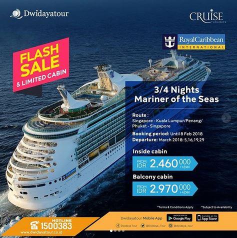 Cruises Sailing at Dwidaya Tour
