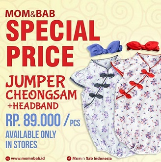 Special Price Rp 89,000 from Mom & Bab