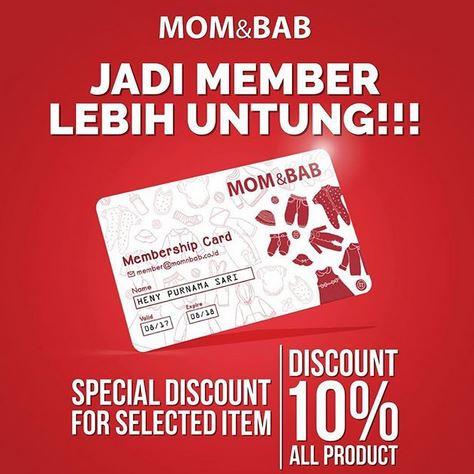 Discount 10% at Mom & Bab