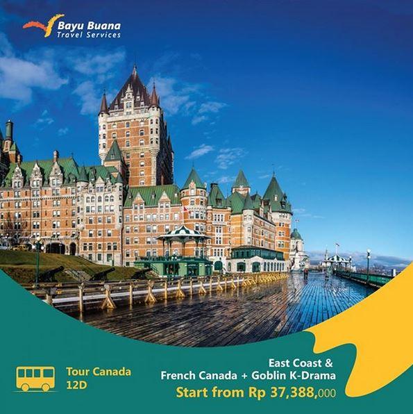 Promo Tour Canada at Bayu Buana Travel