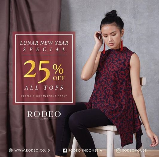 25% Discount Promo from Rodeo